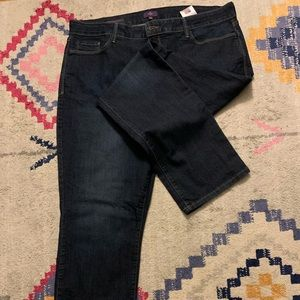 NYDJ Straight Jeans Size 18W Never Worn!